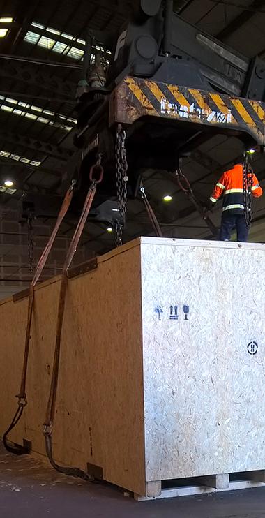 Imballaggi industriali